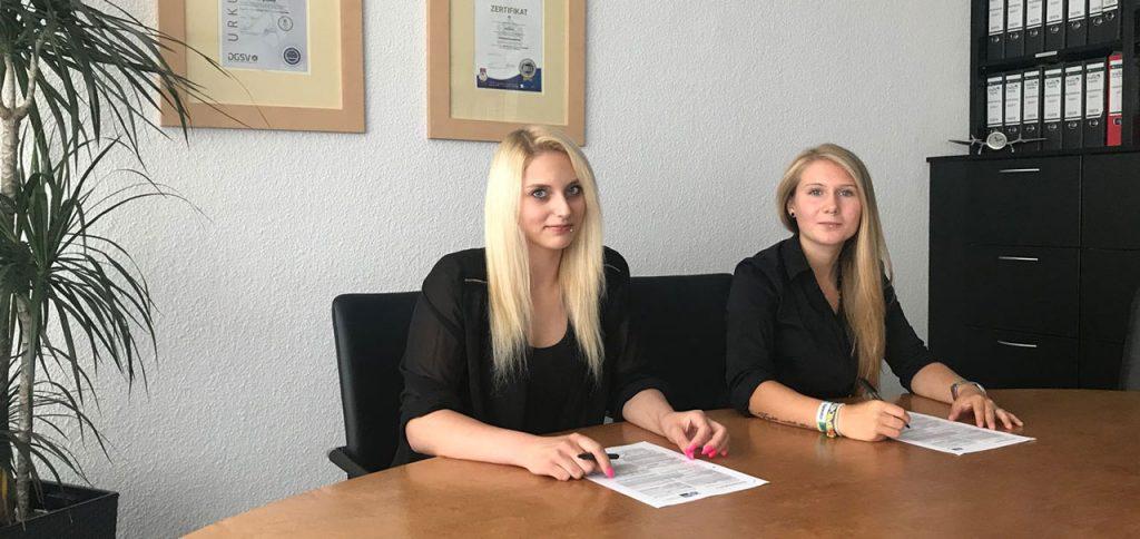 Ausbildung Kauffrau Büromanagement Trio GmbH Gebäudereinigung Krefeld