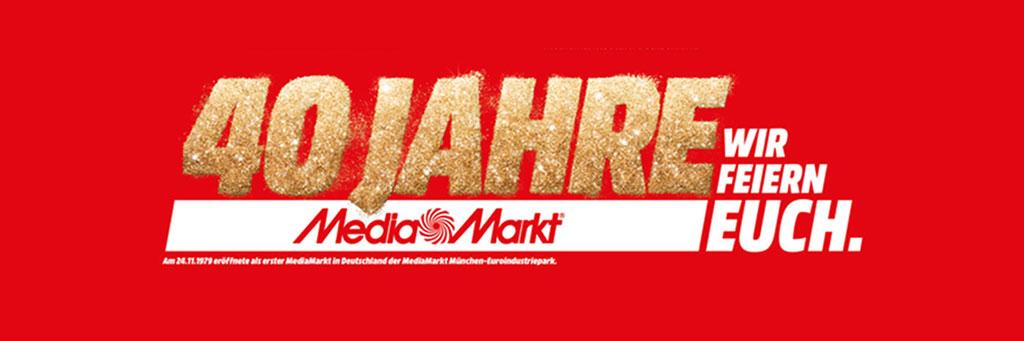 40 Jahre MediaMarkt Deutschland Trio GmbH Facility Services Krefeld